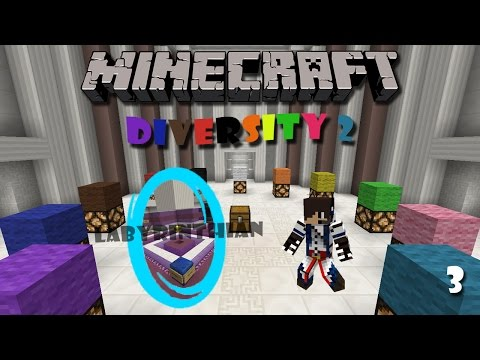 Minecraft Map : Diversity 2 (Part 3) - Labyrinthian Branch