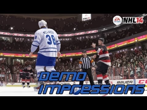 NHL14 Demo: The Good, The Bad, The Ugly