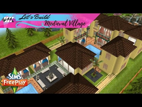 Let's Build Medieval Village | Sims FreePlay