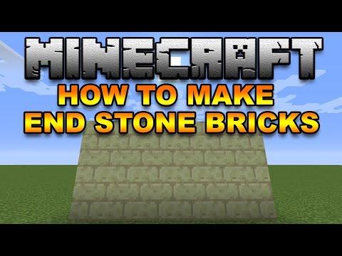 Minecraft How to make End Stone Bricks