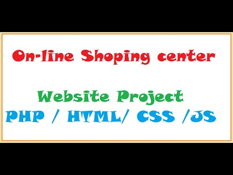 OnLine Shopping Center Project in PHP/HTML - Programming SeekerzZ