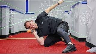 Nerf Spider Web Challenge!