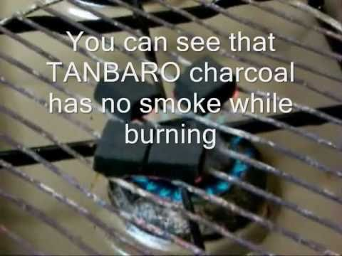 How to light Tanbaro Natural Hookah Coconut Charcoal using a Gas Stove