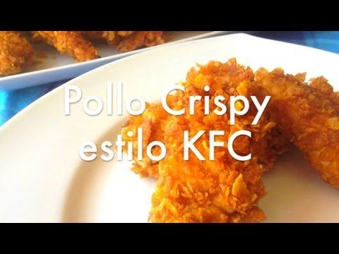 Pollo estilo Crispy Kentucky Fried Chicken crujiente