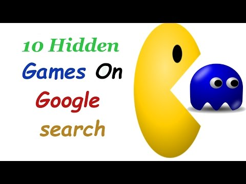 Google secret games :  hidden google games