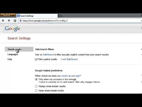 How to Enable and Disable Google Safe Search