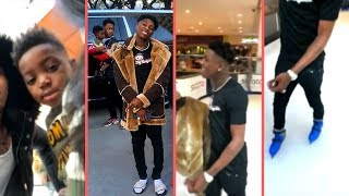 "NBA YoungBoy Goes To Ice Skating Rink With His Son Draco and Never Broke Again Crew ""YB Skating LOL"""