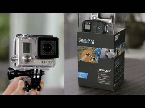 GoPro Hero 3+ Black Edition - Unboxing & Overview