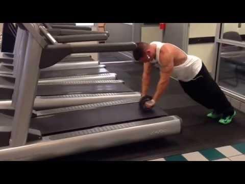Treadmill Ab Roller!