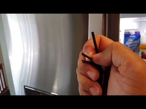 How to Tighten Handle on Refrigerator and Other Appliance Handles