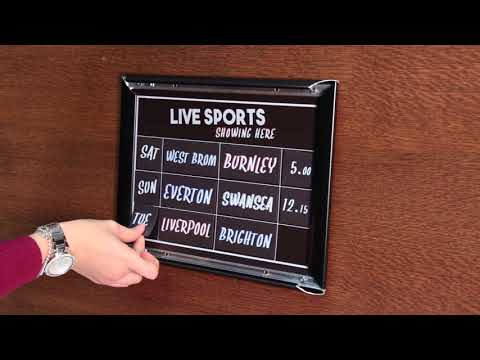Live Sports - Magnetic Board