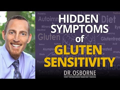 The Hidden Symptoms of Gluten Sensitivity