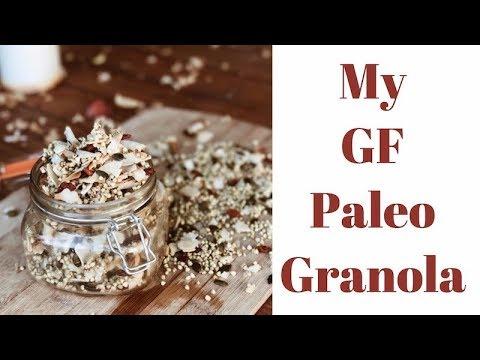 My Gluten-free Paleo Granola / Foodie Friday's