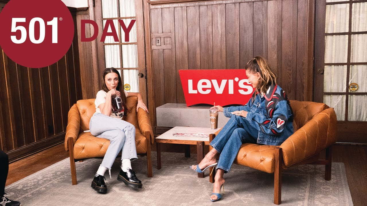 Levi's 501 Day | Coffee Talk with Emma Chamberlain and Hailey Bieber