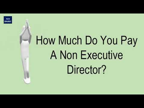 How Much Do You Pay A Non Executive Director?