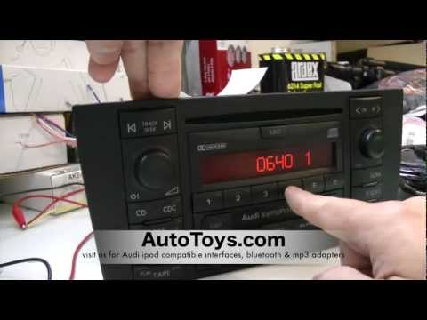 How to Unlock Audi Radio Code , READ SAFE MODE by AutoToys.com (blitzsafe vw / audi converter plug)