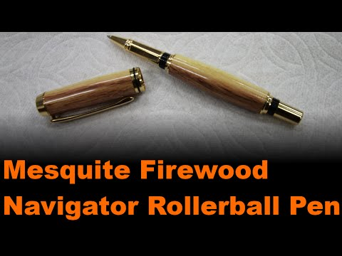Mesquite Firewood Navigator Rollerball Pen