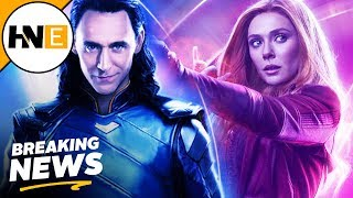 Loki, Scarlet Witch, & More Marvel Shows Coming to Disney Streaming