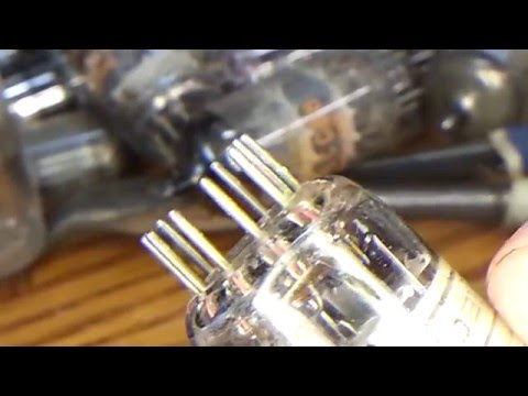 Cleaning Vacuum Tubes Pins