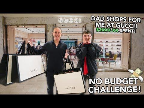 Xxx Mp4 NO BUDGET CHALLENGE At The GUCCI Store Ft My Dad 3XXX XX Spent 3gp Sex