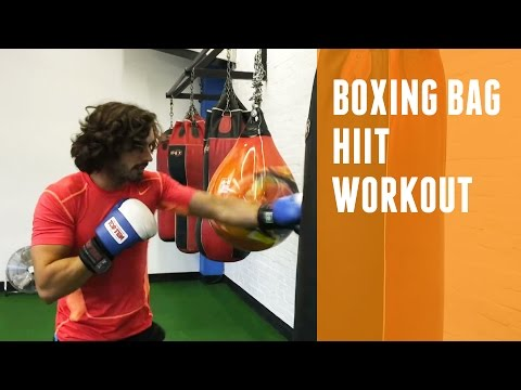 Boxing Bag HIIT Workout | The Body Coach
