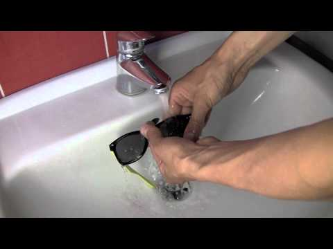 How to clean your sun glasses without scratching them