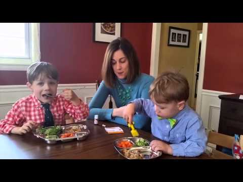 Why my kids eat salad - getting kids to eat healthy food