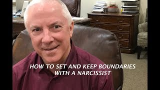 HOW TO SET AND KEEP BOUNDARIES WITH A NARCISSIST: 6 KEYS