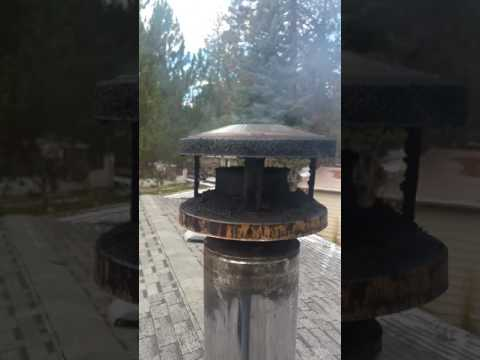 Wood stove, Clogged chimney