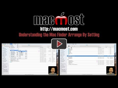 Understanding the Mac Finder Arrange By Setting (#1613)