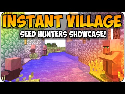 Minecraft PS3 & Xbox 360 Seed Hunters - The Instant Village - Seed Showcase/ Review Gameplay