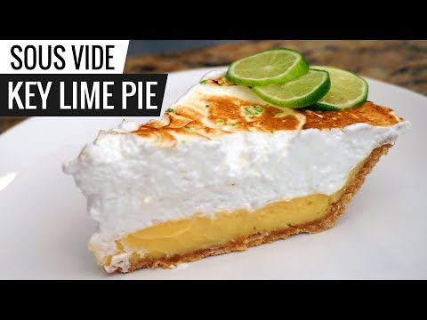 Sous Vide KEY LIME PIE - Amazing Recipe from Abuela!