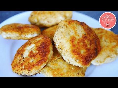 Russian Chicken Cutlets ( Kotleti) Recipe | Лучшие Куриные Котлеты