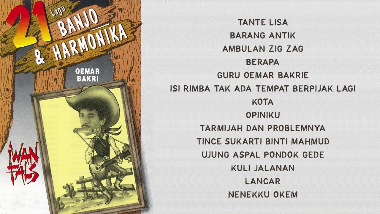 Iwan Fals - Lagu Banjo dan Harmonika | Compilation Audio HQ