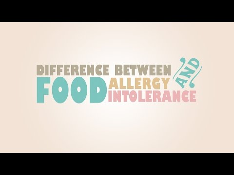 What's The Difference Between Food Allergy and Food Intolerance