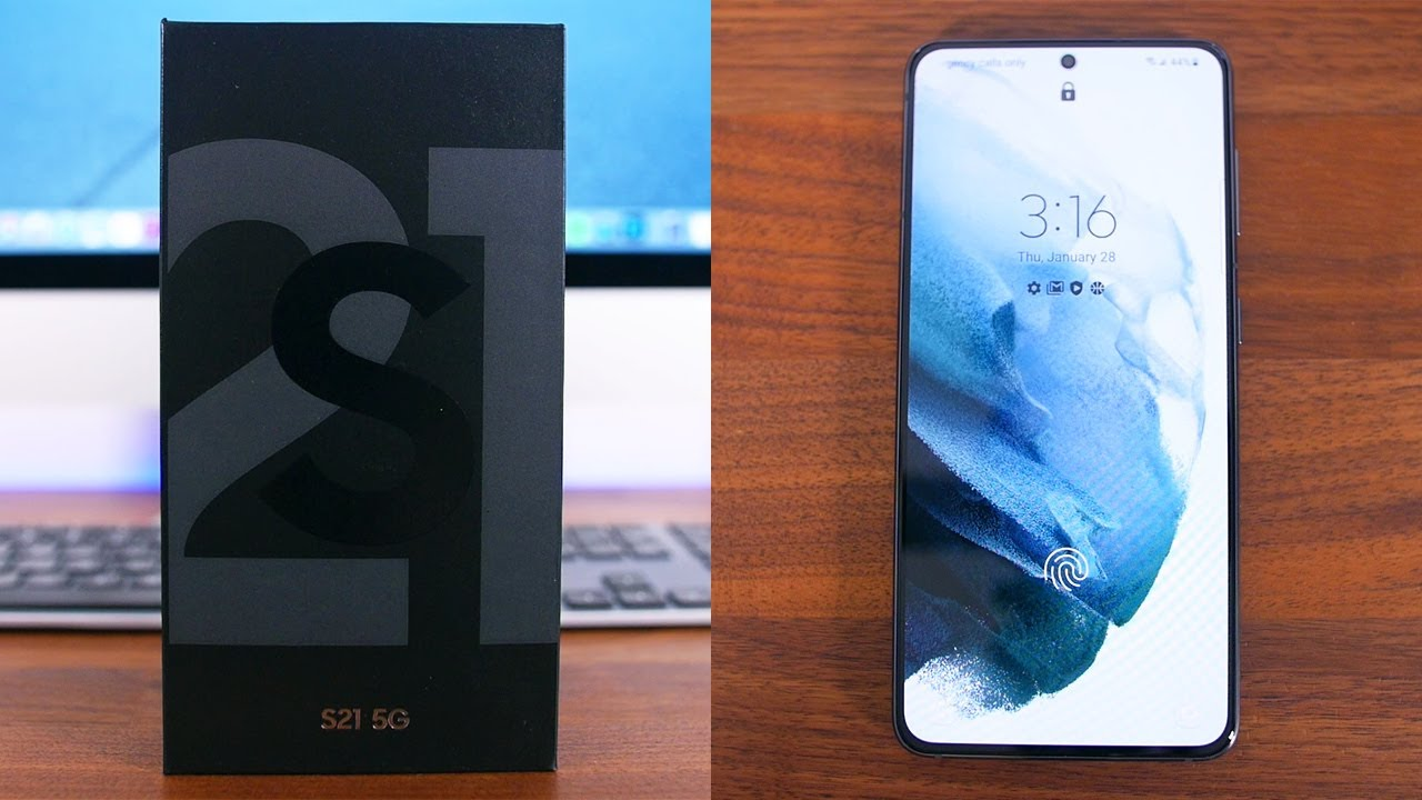 Samsung Galaxy S21 Unboxing and First Look