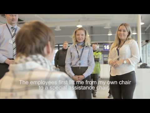 Smooth travelling for passengers with reduced mobility | Finavia