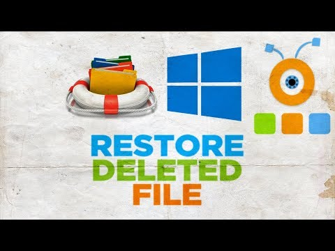 How to Restore a Deleted File in Windows 10