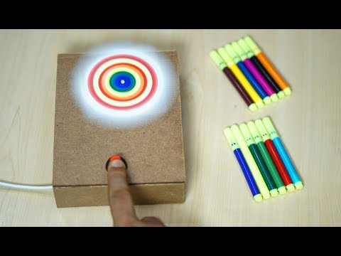 How to Make a Spin Art Machine