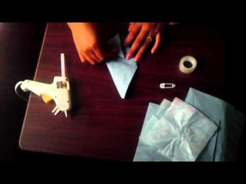 How to do a diaper napkin