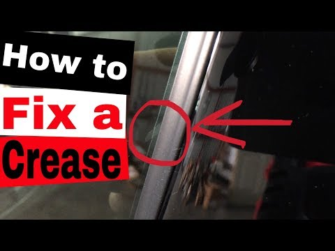 Window Tinting: How to fix a crease
