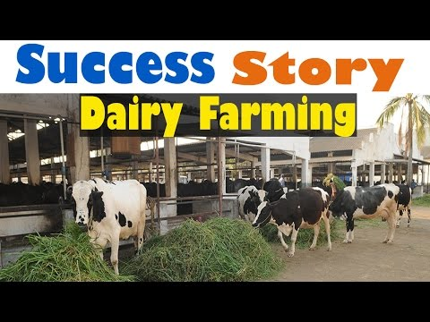 Success Story of a Dairy Farm - (2016) | Dairy Farming In India -Inspirational - Must Watch