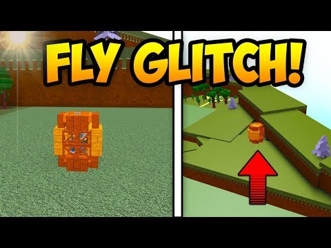 *NEW* FLYING BOAT GLITCH!   Build A Boat For Treasure ROBLOX