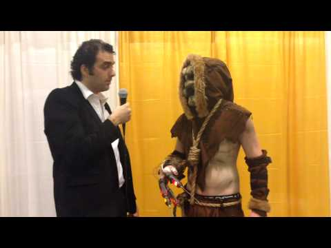 Toronto Comicon 2014 Interviews: Scarecrow (Batman: Arkham Asylum)