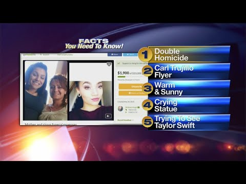 May 25 Morning Rush: Family says pair killed were mother and daughter; suspect in Colorado