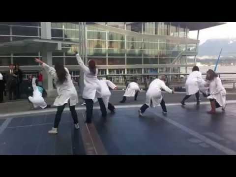 Flashmob at Pan Pacific Vancouver