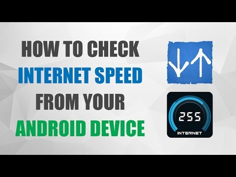 How to Check Internet Speed on Android Phone | Internet Speed Meter