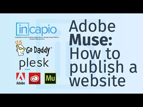 Plesk | How to Set Up Adobe Muse CC With GoDaddy via FTP to upload a website. | 2018
