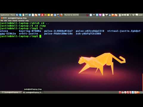 the tmp directory in linux -