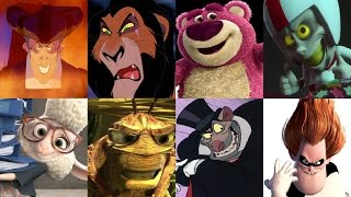 Defeats of My Favorite Disney Villains Part 1